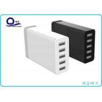 Quality 5 Port Multipe USB Charger Desktop Charging Station with 40W 8A for Smart Charge for sale