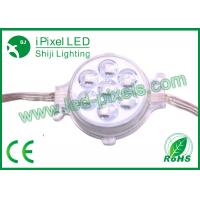 Wholesale Ucs2903/16703ic 50mm 7pcs SMD5050 rgb LED pixel light with clear lens cover from china suppliers