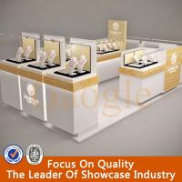 Wholesale hot sales modern glass jewelry display showcase/jewelry kiosk from china suppliers