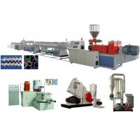 Wholesale UPVC Rigid Solid Pipe Extrusion Line from china suppliers