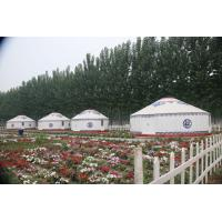 Wholesale Durable Outdoor Mongolian Yurt Tent With PVC Flame Resistant Material B1 Grade from china suppliers