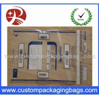 Wholesale Confidential Security Custom Packaging Bags , Customization File Backpack from china suppliers