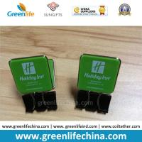 Wholesale Custom Green Plastic Panel Advertismental Black Binder Office Paper Clip w/Company Logo Printing from china suppliers