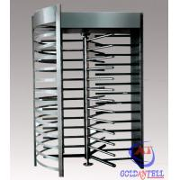Wholesale Stainless Steel Security Full Height Turnstile Gate with Electric Mechanical Management from china suppliers