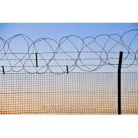 Wholesale Welded Stainless Steel Barbed Wire Security Fence For Frontier / Gardens Apartments from china suppliers
