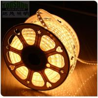 Wholesale High quality AC ip65 tape warm white led light  50m flexible strip 220V 5050 smd strip from china suppliers