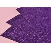 Wholesale Environmental Friendly Glitter Cardstock Paper Chunky Glitter Leather For Wall from china suppliers