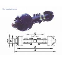 Wholesale American Type axles Out–board Axle 8T-20T from china suppliers
