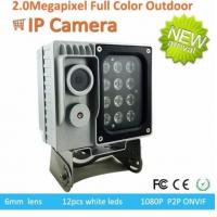 Wholesale Full Color Starlight Traffic Surveillance Cameras P2P ONVIF 1080p 0.0001Lux F1.2 from china suppliers