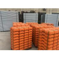 Wholesale Hot Dipped Galvanized Temporary Fence For Building Sites Weather Resistance from china suppliers