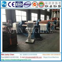 Wholesale CE cert Hydraulic W12 hydraulic 4 roller plate roll bending machine Veneer reeling machine from china suppliers