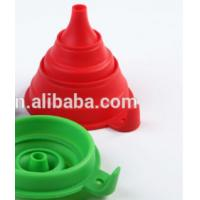 Wholesale food grade kitchen collapsible Plastic Funnel from china suppliers
