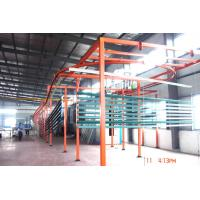 Wholesale Aluminum Profile Automatic Powder Coating Line With Tunnel Oven  And Multi-Spray Booth from china suppliers