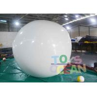 Wholesale DIA2M White PVC Round White Inflatable Balloon For Adversting from china suppliers