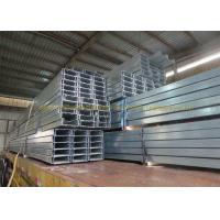 Hot Rolled Z Steel Section Galvanized Steel Square Tubing Zinc Galvanized C Channel