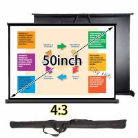 Wholesale 3D Projector Manual Projection Screen Clear Image With Aluminum Casing Material from china suppliers