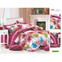 Wholesale Printed Flower Full Size Family / Hotel 100% Cotton Custom Bedding Set from china suppliers