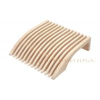 Wholesale Flows smoothly Anatomically Designed Wood Sauna Backrest  For Sauna Room Relaxing from china suppliers
