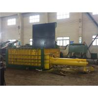 Wholesale 90 KW Customized Hydraulic Scrap Metal Baling Press 600 x 600 Bale Size from china suppliers