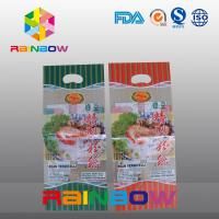 Wholesale Custom Logo Back Side Sealing Plastic Pouches Packaging With A Hang Hole For Dry Noodles from china suppliers