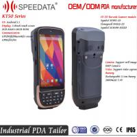 Wholesale Quad - Core 5 Inch IPS Touch Screen Android PDA Courier Barcode Scanner Android from china suppliers