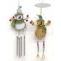 Wholesale Stained Glass Wind Chime with Hat Design from china suppliers
