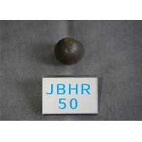 Wholesale High Hardness 61-62hrc Hot Rolling Steel Balls B2 D50mm Grinding Media Ball for Cement Plants from china suppliers