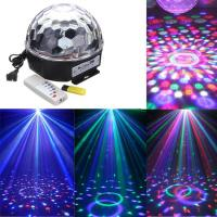 Wholesale Mini RGB LED Crystal Ball, DMX Music 3w Crystal Magic Ball Laser Stage Light from china suppliers
