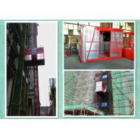 Quality Frequency Conversional Construction Site Material Lift Elevator Energy Saving for sale