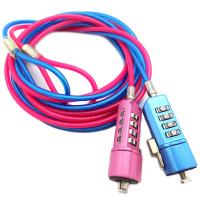 Wholesale Colorful Steel Wire PVC Coating Security Cable Lock For Laptop Computer from china suppliers