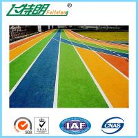 Wholesale Colorful Athletic Run Track EPDM Rubber Granules Coating Gym Floor Mats from china suppliers
