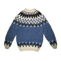 Wholesale Blue Lovely 100% Cotton Warm Knitting Patterns Kids Sweaters, Baby Girl Cardigan Sweater from china suppliers