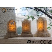 Wholesale Tombstone Shaped Halloween Led Candles With Color Changing Function from china suppliers