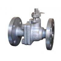 Buy cheap 2 Pieces Ball valve Operating Type Lever Handle Pressure Rating PN25 from wholesalers
