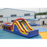 Wholesale Kids Backyard Inflatable Obstacle Course , Anti - UV Bouncy Obstacle Course from china suppliers