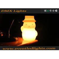 Wholesale LED Snowman Stylish Cordless Table Lamps Remote Control Battery Operated from china suppliers