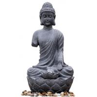 Quality Large Zen Inspired Asian Buddha Water Fountain Water Features For Garden for sale