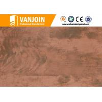 Quality Anti Skid Outdoor Stone Flexible Wall Tiles For Prefab Villa for sale