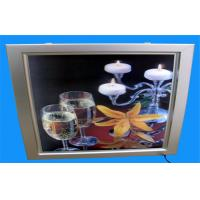 Wholesale Red / White Outdoor A1 Acrylic LED Waterproof Window Light Box 19mm , Easy To Clean from china suppliers