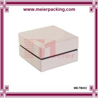 Wholesale Paper box packaging with foam/ white gift box for promotion/Jewelry gift box ME-TB002 from china suppliers