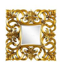 Wholesale Wooden Framed Wall Decorative PU Mirror from china suppliers