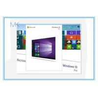 Wholesale Geniune OEM Microsoft Windows 10 Operating System Pro Product Key 100% activation online from china suppliers