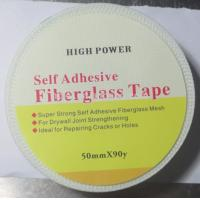Wholesale 50mmx90m strong self adhesive Drywall Fibre Glass Joint Tape for reinforcing wall from china suppliers