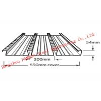 Wholesale Bondek Alternative Structural Steel Deck For Concrete Construction Formworks from china suppliers