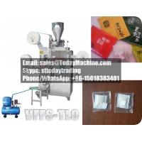 Wholesale Tea bag packing machine(double chamber, innter outer bag, thread, label) from china suppliers