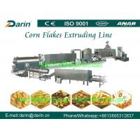 Wholesale Fully Automatic Breakfast Cereal Corn Flakes Processing Line / making machine from china suppliers