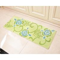 Wholesale Shockproof green Microfiber Floor Mat for home dinning room / Kitchen from china suppliers