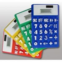Wholesale Various colors foldable silicone calculator from china suppliers