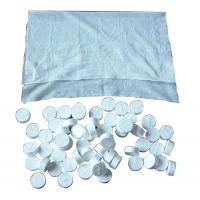 Wholesale OEM 100% Viscose Magic Tablet Wipes with Mesh Nonwoven , Compressed Tissue from china suppliers