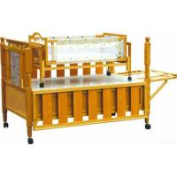 Buy cheap Children Wooden Bed With Swing Cribs from wholesalers